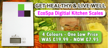 EcoSpa Kitchen Scales Promotion